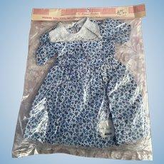 Mint in Package Premier Doll Dress 18-19 inch 1950s