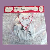 Mint in Package Dee and Gee Baby Clothes 1950s