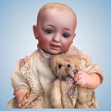Sweet Petite Kestner Solid Dome Kestner Character Baby Doll