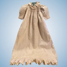 Long Antique Gown for Bisque Babies 1903
