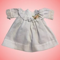 Dimity Doll Dress for Bisque Dolls
