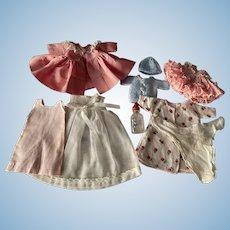 """Nine Piece Layette for 8"""" Vogue Ginnette and Friends 1950s"""
