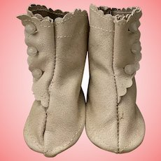 High Top Boots for German or French Bisque Dolls