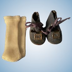 American Character Sweet Sue Shoes and Rayon Socks 1950s