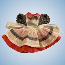 Hard to Find Ideal Toni Dress 1952