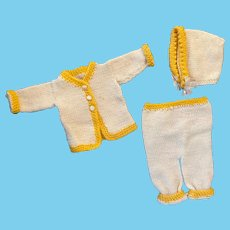 Three Piece Outfit for Boy or Girl Composition Dolls 1930s