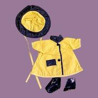 Arranbee Littlest Angel Raincoat, Hat, and Rain Boots