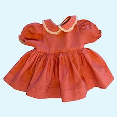 Ideal Pink Baby Doll Dress with attached underwear 1950s