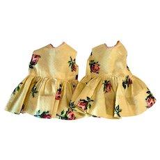 Twin Dresses for Hard Plastic and Vinyl Dresses