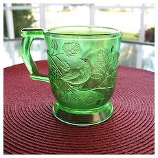Robin in A Tree 2 Green 8 oz Cups