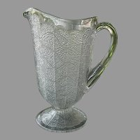 Tree of Life 8.5 in. Water Pitcher Lobed