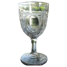 Beaded Oval Window aka Argyle Goblet 1885 Goblet 2