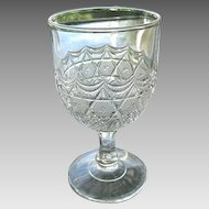 Star in Honeycomb 5.75 in. Goblet Bryce 1885