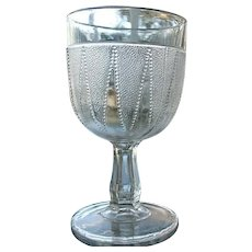 Dewdrop in Points 5.75 in. Water Goblet 1888