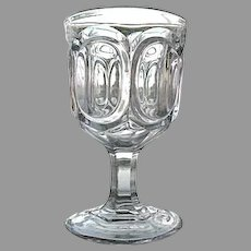 Pendleton Colonial Water Goblet 1860s