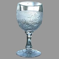 Maiden Hair Fern Goblet 1892