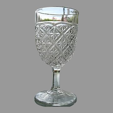 Barred Star aka Spartan Water Goblet