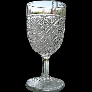 Barred Star aka Spartan Water Goblet