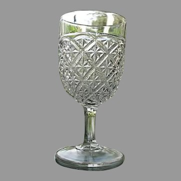 Barred Star aka Spartan Water Goblet #2