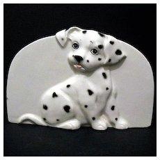 Dalmatian Napkin Sponge Bill Holder Otagiri Made in Japan