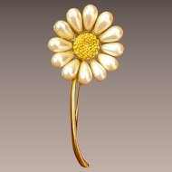 Givenchy Daisy Costume Brooch