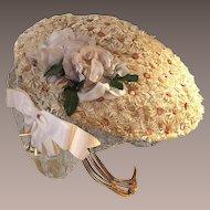 Flo Raye Vintage Spring Daisy Hat