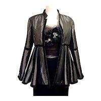 Vintage Laura Biagiotti Peplum Jacket