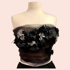Vintage Bruce Oldfield Couture Bustier Corset Top