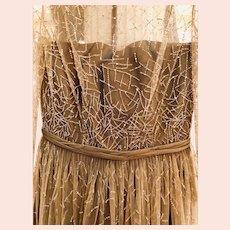 Vintage Pamella Roland Embellished Dress