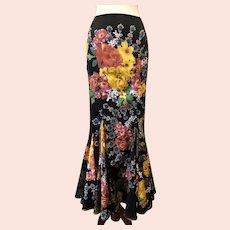 Vintage 1990's Roberto Cavalli Corseted Skirt