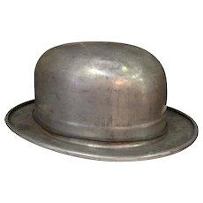 Mid-Century Decorative Bowler Hat Mold