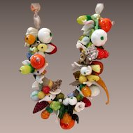Glass Fruit Necklace