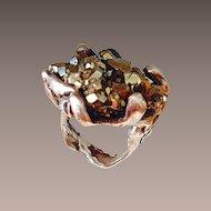 Artisan Pyrite Ring