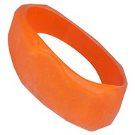 Cara Croninger 1985 Orange Bracelet Vintage