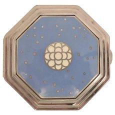 Art Deco le Debut Richard Hudnut Enamel Compact