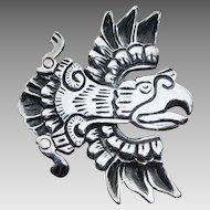Spratling Silson Eagle Pin Brooch 1940-45