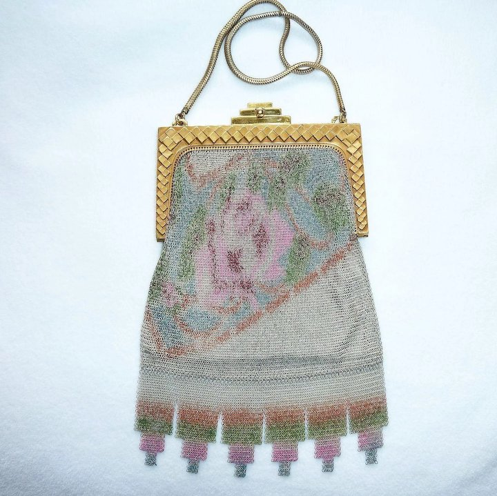 whiting and davis mesh bags