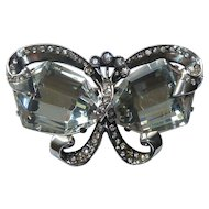 Eisenberg Original Sterling Bow Butterfly Brooch Pin 1935-1945