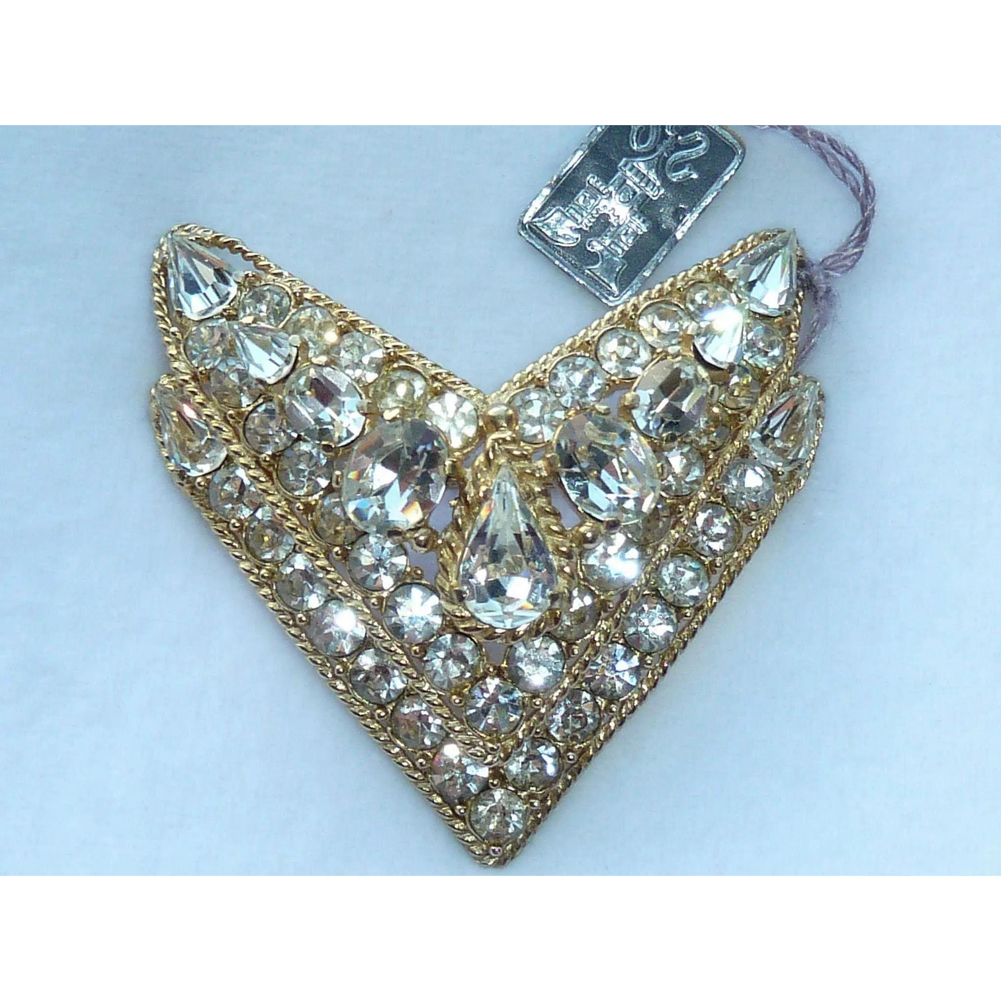 collar rhinestone lusting l lavish necklace simple diy chain brooch for