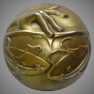 Joseff of Hollywood Libra Astrological Sign Pin Brooch 1945