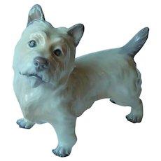 Cairn Terrier Porcelain Dog Dahl Jensen Royal Copenhagen