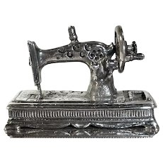 Novelty Sterling Sewing Machine Box: Great Britain