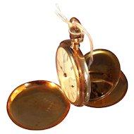 Ladies 14k Elgin Pocket Watch