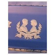 Wedgwood Blue Royal Wedding Tray