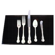 Towel Sterling flatware set