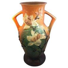 "Roseville ""Magnolia"" Vase"