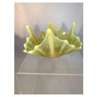 Fluorescent Glass Bowl