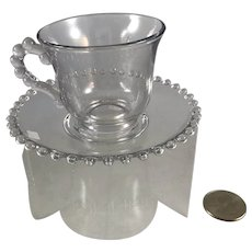 Imperial Candlewick Cup and Saucer