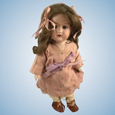 Vintage Armand Marseille Bisque Porcelain Doll