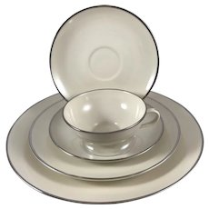 """Franciscan """"Platinum"""" China Service for 12"""